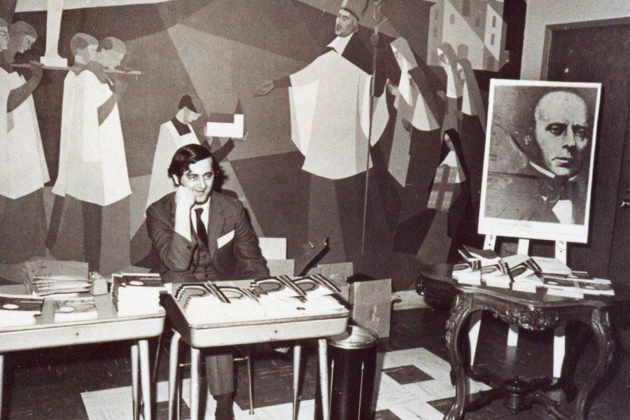 Andre Gaulin en 1969