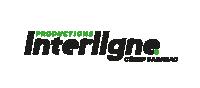 Logo Productions Interligne Noir Vert 2017