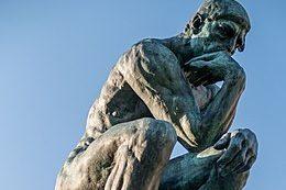 260px Le Penseur in the Jardin du Musee Rodin Paris March 2014